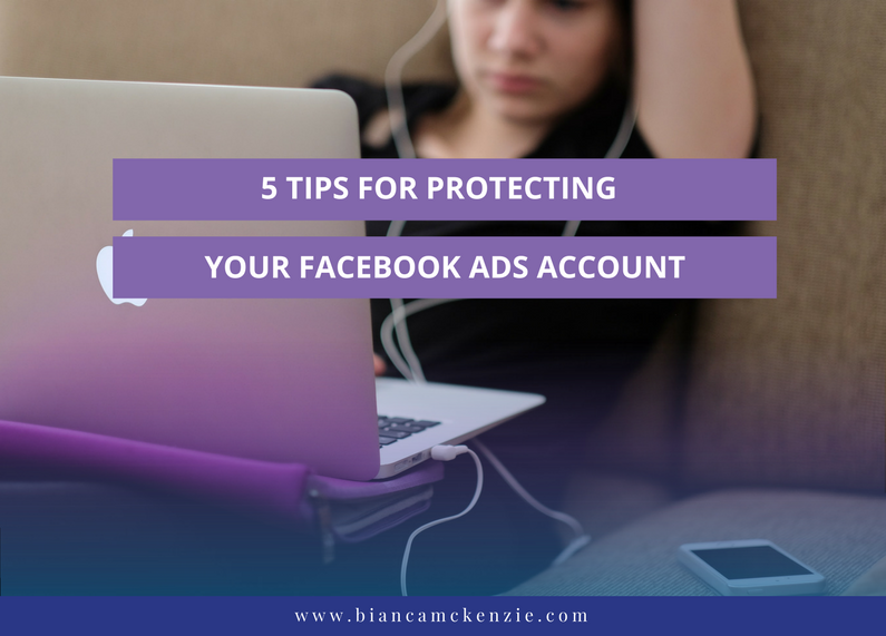 5 tips for protecting your facebook ads account