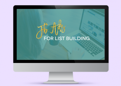 FB Ads for List Building