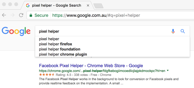 pixel helper - Google Search 2017-02-20 10-41-17