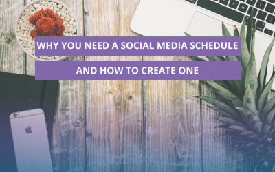 Why you need a social media schedule and how to create one