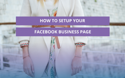 How to setup your Facebook business page