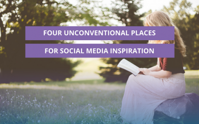 Four unconventional places for social media inspiration