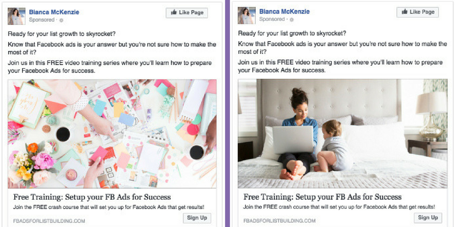 How to choose the best image for your Facebook ad? - Bianca McKenzie