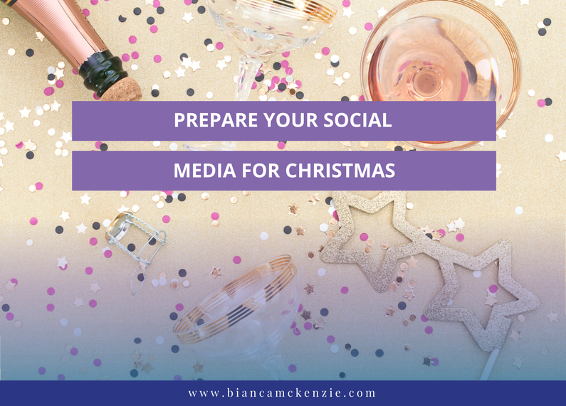 Prepare your social media for Christmas