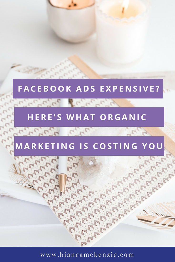 Facebook Ads Expensive? Here's what organic marketing costs