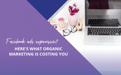 Facebook ads expensive? Here's what organic marketing is costing you