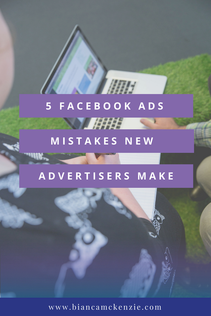 5 Facebook Ads mistakes