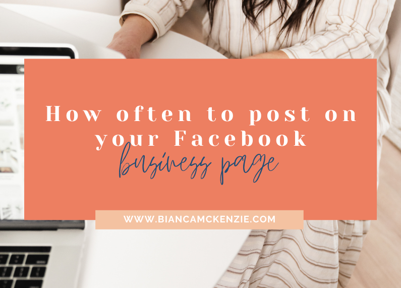 How often to post on your Facebook business page