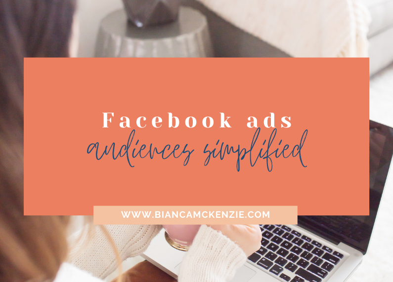 Facebook ads audiences simplified