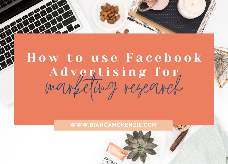 How to use Facebook Advertising for marketing research