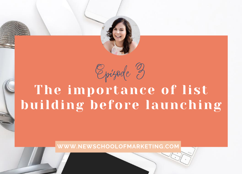 The importance of list building before launching