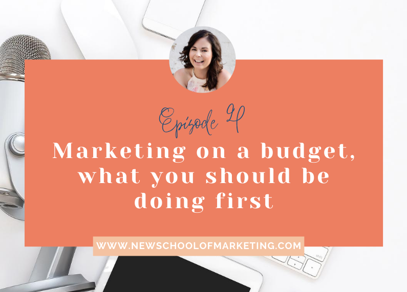 Marketing on a budget, what you should be doing first?