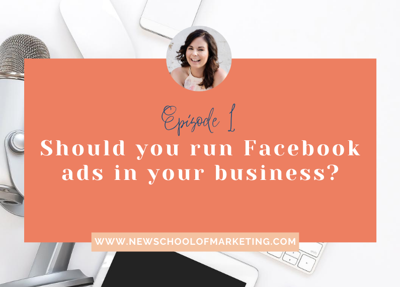 Organic vs paid marketing. Should you run Facebook ads in your business?