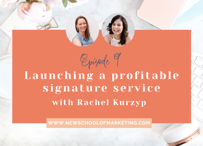 Launching a profitable signature service with Rachel Kurzyp