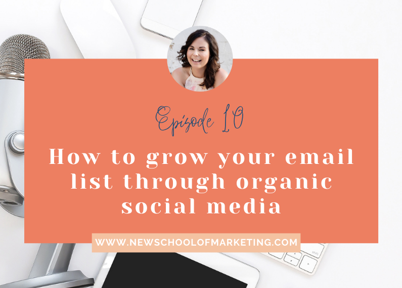 How to grow your email list through organic social media
