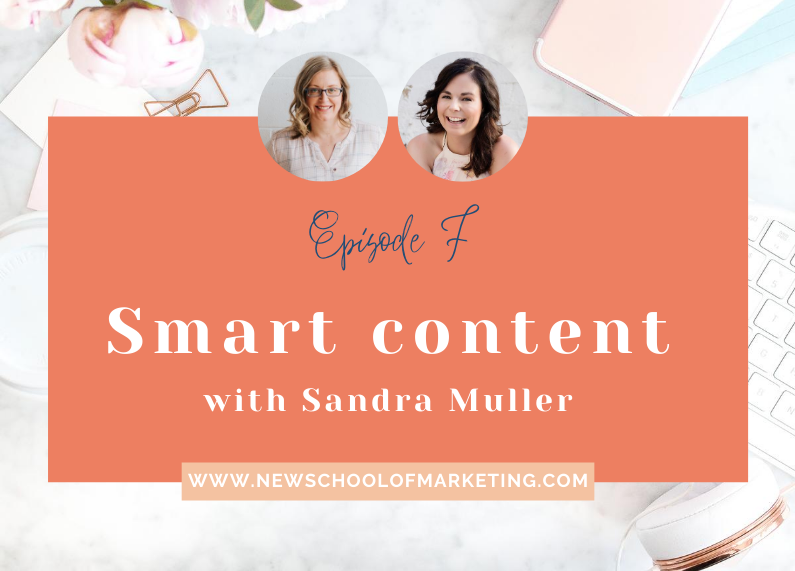 Smart content with Sandra Muller