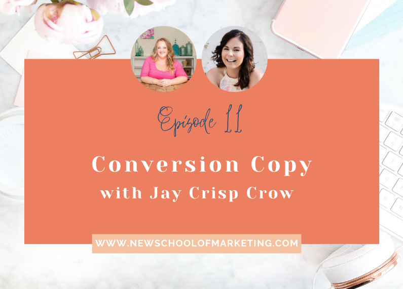 Conversion Copy with Jay Crisp Crow