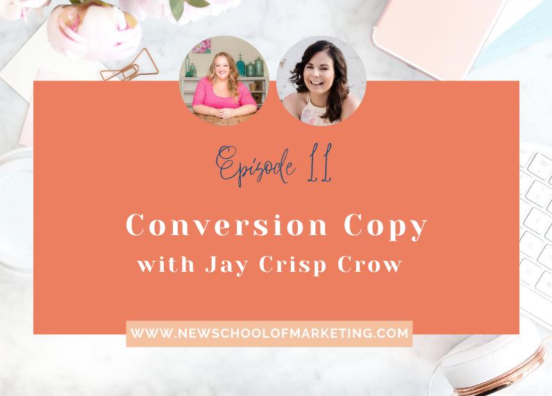 Conversion Copy with Jay Crisp Crow
