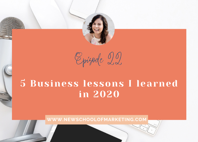 5 Business lessons I learned in 2020