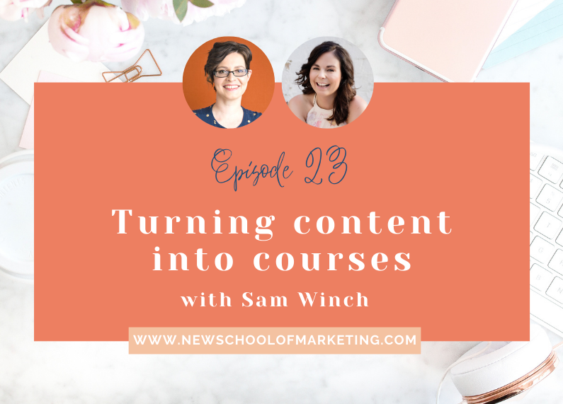 Turning content into courses with Sam Winch