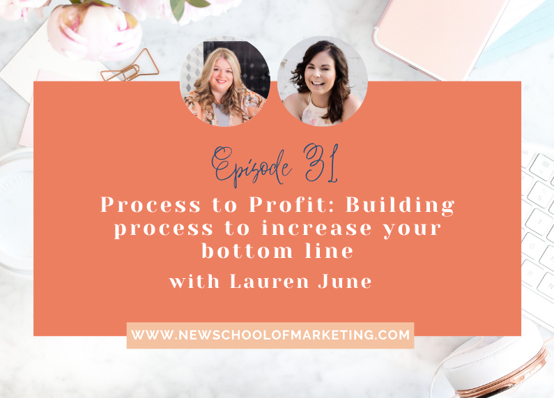 Process to Profit: Building process to increase your bottom line with Lauren June