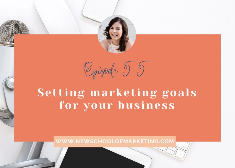 Setting marketing goals for your business