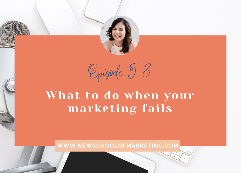 What to do when your marketing fails